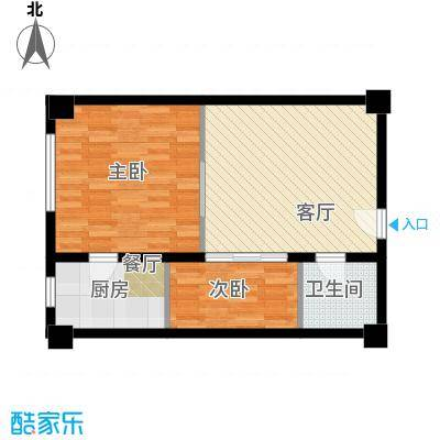 金帝世纪城公寓2户型