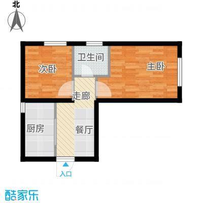 万晟御水湾54.40㎡A4#楼V户型