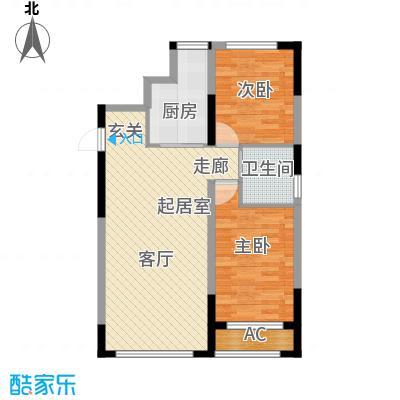 青旅福润家园88.11㎡5#楼01户型