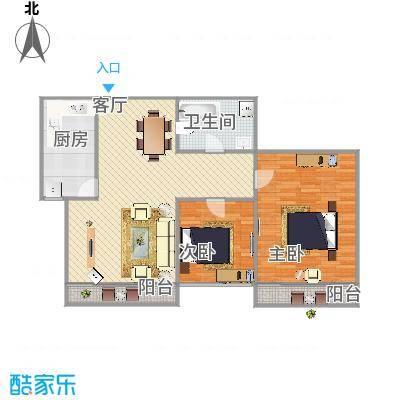 美林湾89平两室一厅一卫