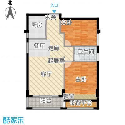 袁河壹品95.64㎡J户型