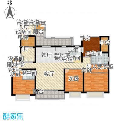 华润中海凯旋门190.00㎡【铂悦28面积19000m户型