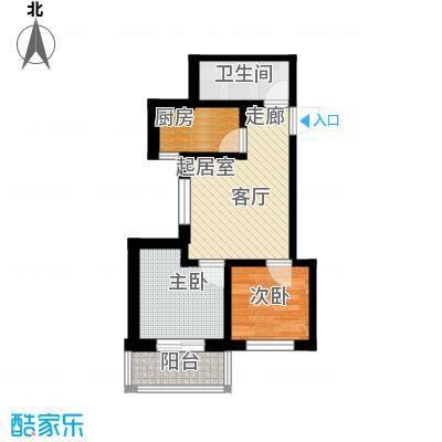 龙潭湖凤凰山庄公寓55#B户型