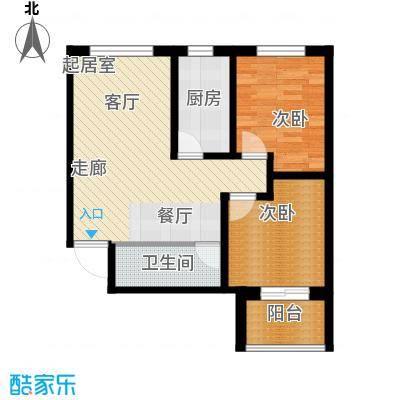 龙潭湖凤凰山庄公寓55#D户型