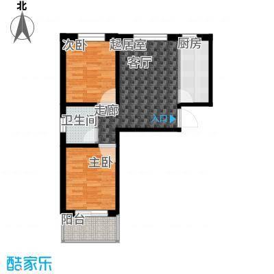 龙潭湖凤凰山庄公寓56#A户型