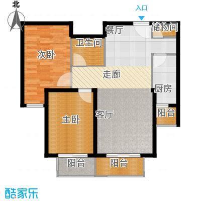 源盛嘉禾已售完景观公寓I户型