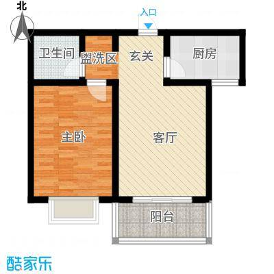 旭阳幸福郡3-H户型