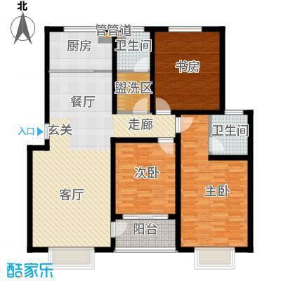 旭阳幸福郡3-E户型
