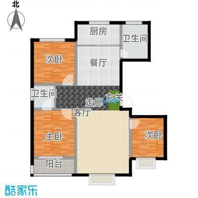 天润国际城139.80㎡户型
