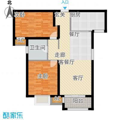 中建城二期高层B3户型
