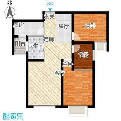 松石国际城B1户型