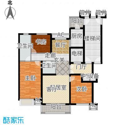 燕赵锦河湾二期C1-01户型