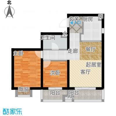 燕赵锦河湾一期F2户型