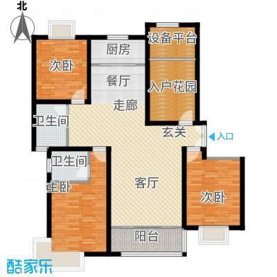 松石国际城E2户型