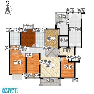 燕赵锦河湾二期D1-01户型
