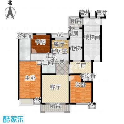 燕赵锦河湾一期C1户型