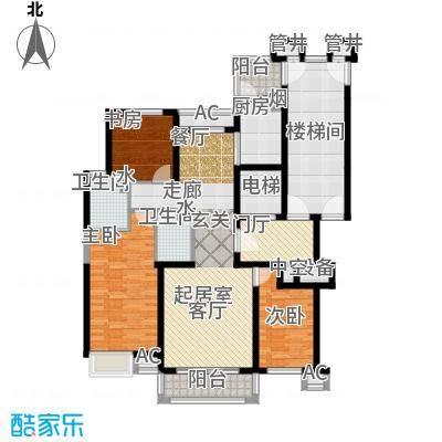 燕赵锦河湾一期A1户型