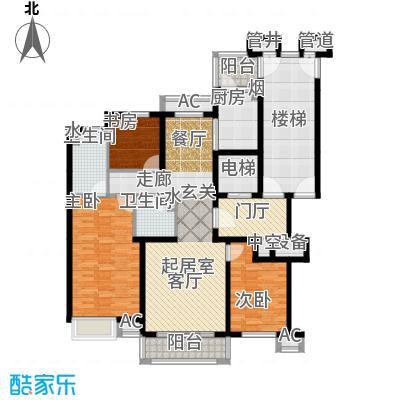燕赵锦河湾一期B1户型
