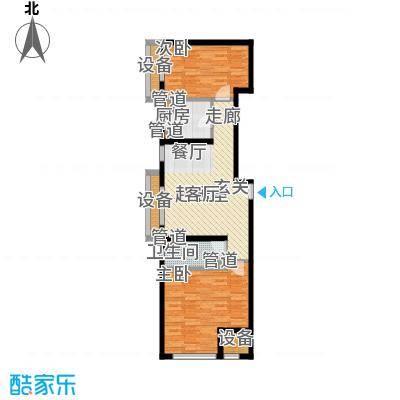 东亚香堤丽舍B5户型