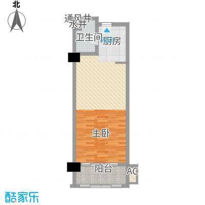 恒大雅苑1号公寓F户型