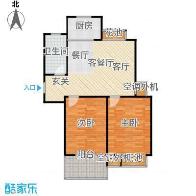 群星苑90.00㎡群星苑户型图90平米两居室户型2室