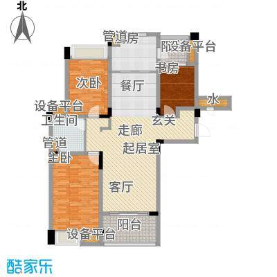 南通碧桂园122.00㎡J472-C户型