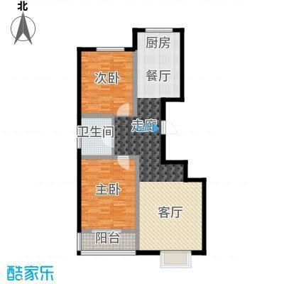 天润国际城93.10㎡户型