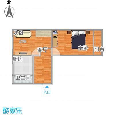 振德里60方两室一厅