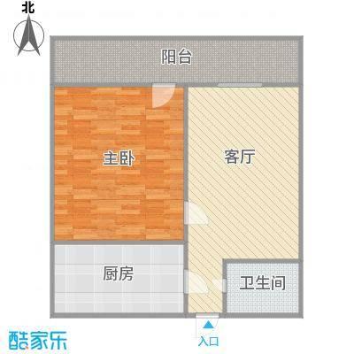 化纤小区的户型图