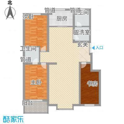 天成嘉园139.00㎡A面积13900m户型