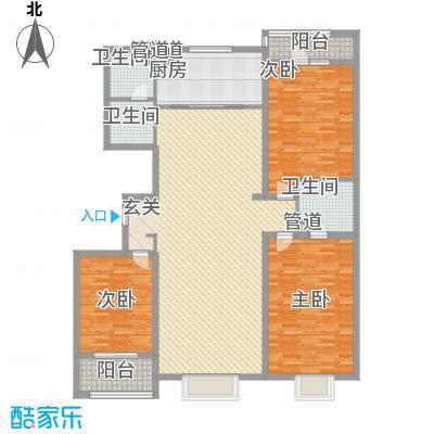 天成嘉园181.79㎡2号楼C面积18179m户型