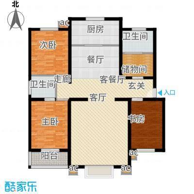 幸福家园139.00㎡面积13900m户型