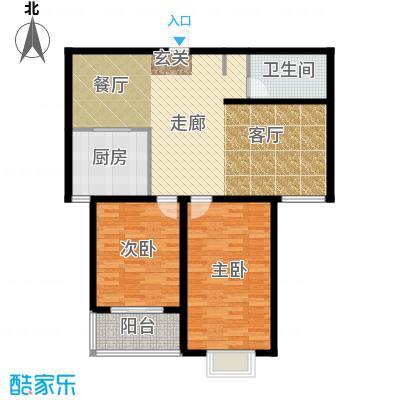 水木清华苑106.26㎡A户型