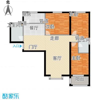 领秀城133.38㎡G4面积13338m户型