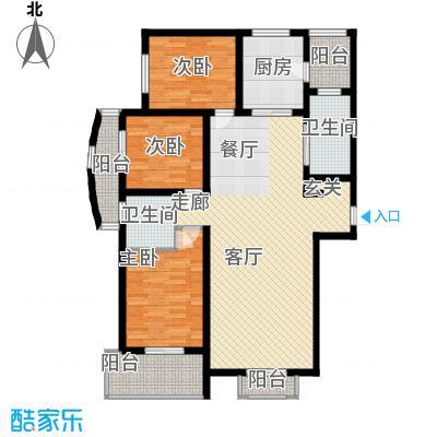 兰汀朝阳138.13㎡兰汀・朝阳高层A1面积13813m户型