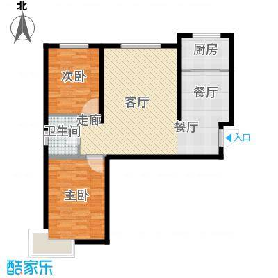 华北星城24-G95户型