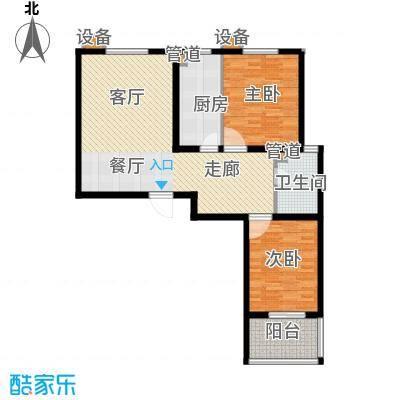 锦绣花园94.00㎡10-F面积9400m户型