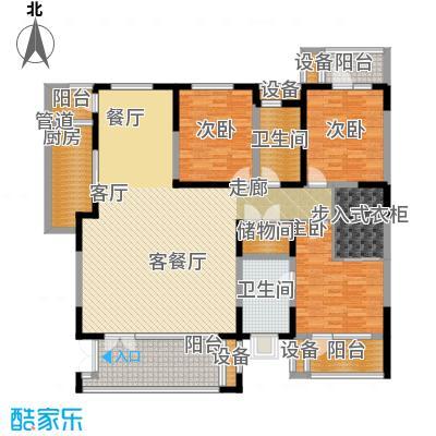 晋中万科朗润园173.00㎡晋中万科・朗润园B5(H5-H6)户型
