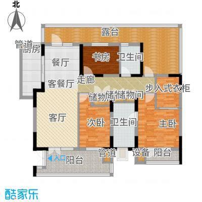 晋中万科朗润园146.00㎡晋中万科・朗润园B6(H5-H6)户型