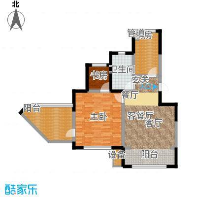 晋中万科朗润园85.00㎡晋中万科・朗润园5号户型