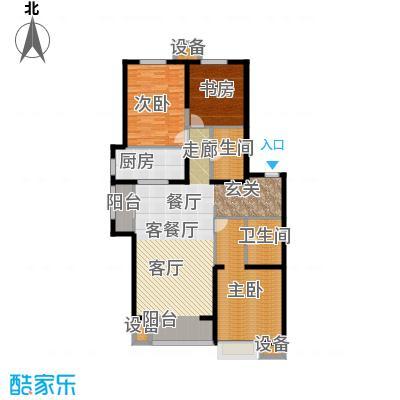 晋中万科朗润园140.00㎡晋中万科・朗润园2号户型