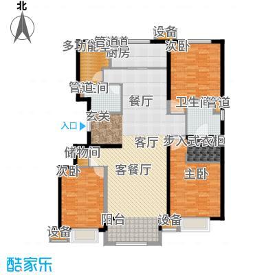 晋中万科朗润园155.00㎡晋中万科・朗润园3号户型