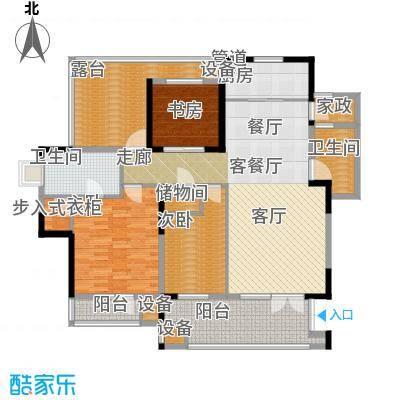 晋中万科朗润园143.00㎡晋中万科・朗润园A6户型