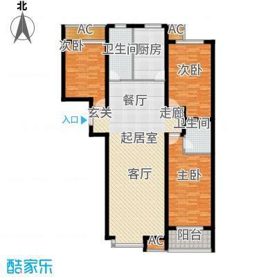 华瑞科技苑139.00㎡华瑞・科技苑A2面积13900m户型