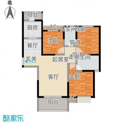 御景水城御�园2#楼c-3户型
