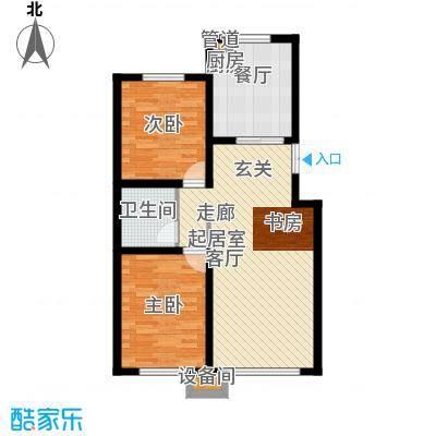 香榭丽花园C2(93)_副本户型