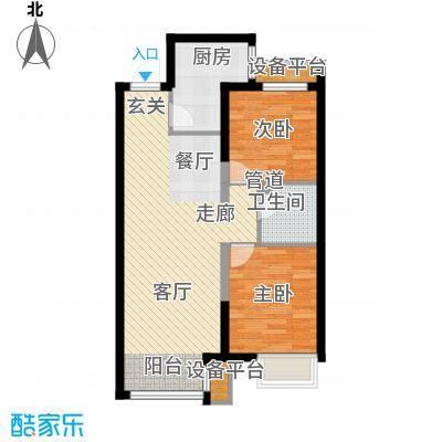 中国水电海赋外滩中国水电・海赋外滩B户型