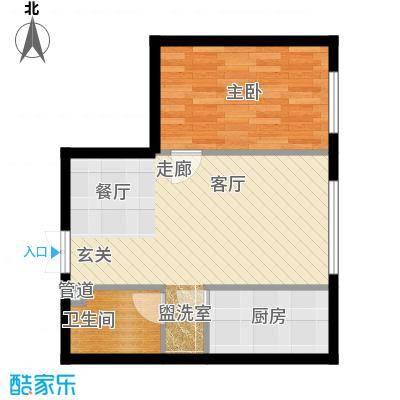 天朗国际广场J户型