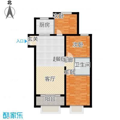 丹东万达广场A1-21号楼-C5户型