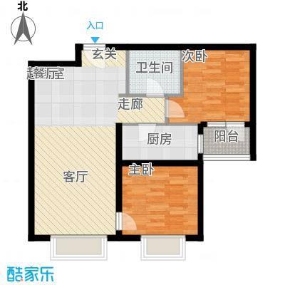 丹东万达广场A1-21号楼-A4户型